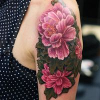 Tatuaż Piwonie Znaczenie Jako Symbol Bogactwa I Młodości