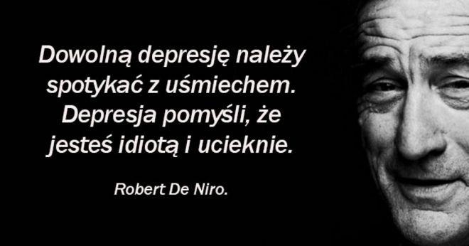 18 Mądrych Cytatów Roberta De Niro