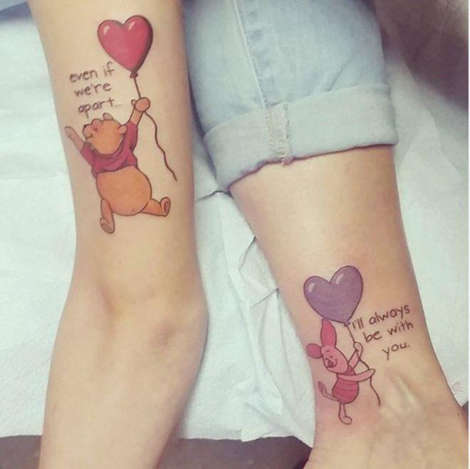 30 Tatuaży Które Na Nowo Zdefiniowały Pojęcie Więzi Między