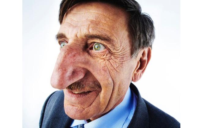 wielkość penisa z nosa zależy)