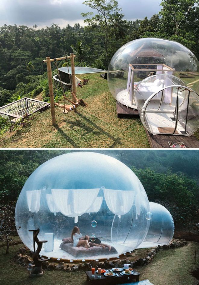 Romantic Bubble Tent