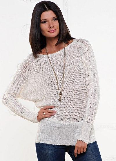 Sweter Nietoperz Bardzo Wygodny Krój