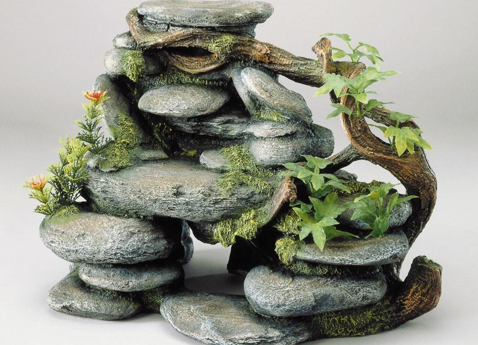 Декоративные камни для аквариума своими руками6