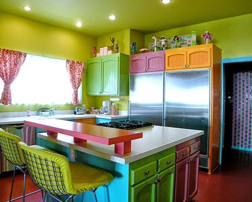 Na jaki kolor pomalować ściany w kuchni  dekorujemy kuchnię na swój smak -> Kuchnia Jaki Kolor Ścian