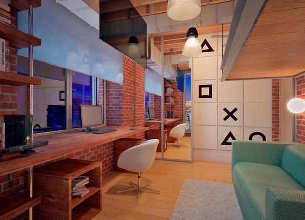 Pok j w stylu loft wn trze w klimacie industrialnym for W loft