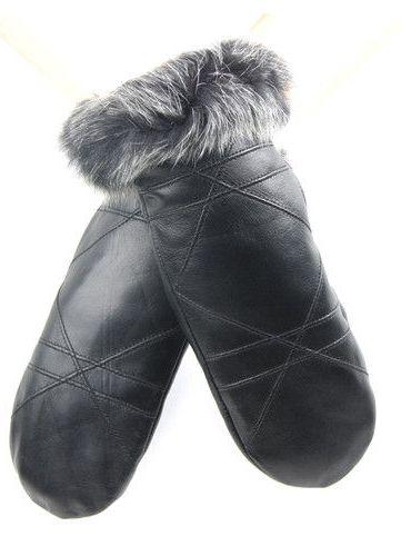 5f1a6b21b5d65 Futerkowe rękawiczki – idealne ciepłe akcesorium na zimę