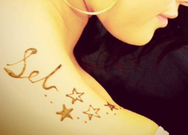 Tatuaże Seleny Gomez