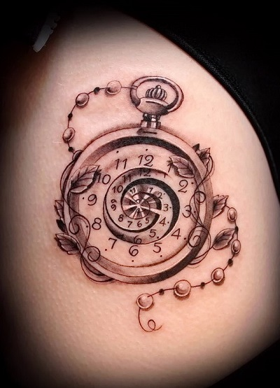 Tatuaż Zegar Znaczenie I Różne Interpretacje Rysunku Z Zegarkiem