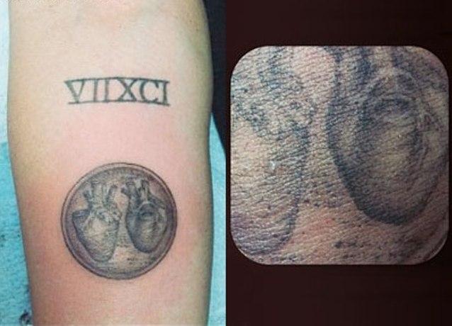 Tatuaże Miley Cyrus