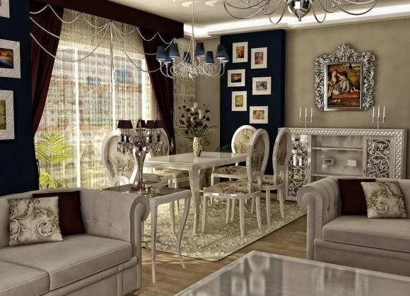 Wsp czesne style w aran acji wn trz r norodno styl w for Decoracion de salon comedor clasico